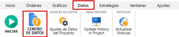 Datos historicos forex