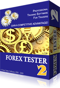 Forex Tester Screen