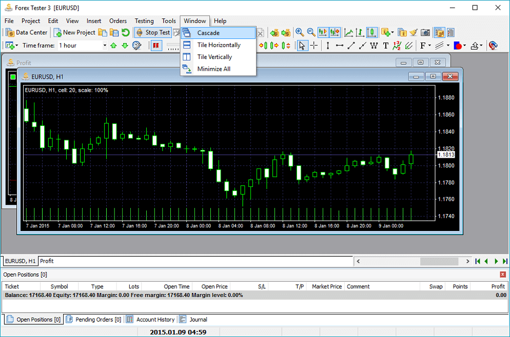 Forex backtesting strategy