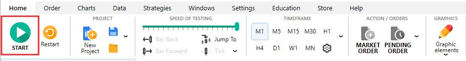 opsi biner grafis tutorial forex tester