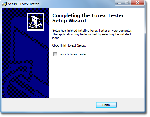 Simple forex tester installation